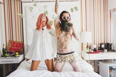 EPIC Vegas Elopement. I feel like this photo shoot is totally something Mitch and I would do... But our families would kill us. lol. #lasvegas #weddings #rocknrollbride