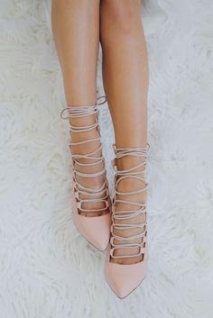 mollini shoes peace - pale pink  