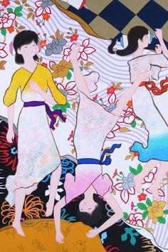 #japanese-style #japanese-pattern #kimono #art #modernart #contemporaryart #artwork #handmade #digital painting #kawaii #child #children #boy #girl #takashi murakami #yoshitomo nara #yayoi kusama #takaki sugawara Modern Art, Contemporary Art, Yoshitomo Nara, Takashi Murakami, Yayoi Kusama, Kawaii, Japanese Style, Children, Boys