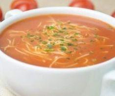 Zupa pomidorowa (jak u mamy) Polish Recipes, Polish Food, Savoury Dishes, Savoury Recipes, I Love Food, Soups And Stews, Curry, Food And Drink, Tasty
