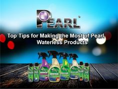 Pearl USA - Top Tips for Making the Most of Pearl Waterless Products. Read More.. http://lnkd.in/bxPJHSw #USA #pearlcarcare #waterlesscarwash #Tips Visit @ http://www.pearlusa.net/