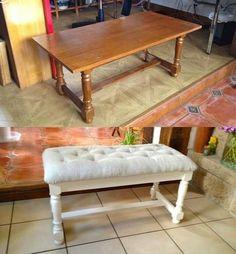 61 Ideas repurposed furniture bench for 2019 Furniture Rehab, Decor, Furniture Diy, Furniture Projects, Furniture Makeover Diy, Refurbished Furniture, Furniture, Home Decor, Bench Furniture