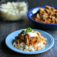 This slow cooker salsa chicken is easy and healthy and most importantly delicious. You can eat it in tacos or quesadillas, on nachos or salads. Versatile, low carb and Paleo too!