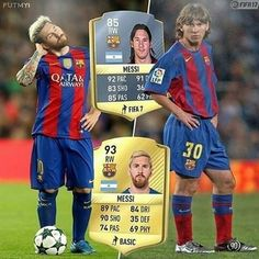 Messi then and now 😱🔥 . . .  #skills #barca #realmadrid #neymarjr #soccer #soccerpractice #soccerball #soccergame #soccerlife #soccerstadium #soccerskills #soccerseason #messi #cr7 #cristianoronaldo #neymar #neymar10 #l4l #soccergoals #f4f #s4s #neymarjunior #bale  #balerealmadrid #tagforlikes #futbol #realmadrid #footy7 #futbol #futbolskills #ronaldo