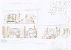 建築学生のポートフォリオ、プレゼンの作り方 | 503gaho.net