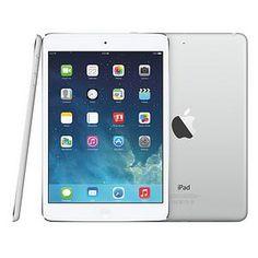 Apple iPad Air (9.7 inch Multi-Touch) Tablet PC 128GB WiFi + Cellular Bluetooth Camera Retina Display iOS 7.0 (Silver)