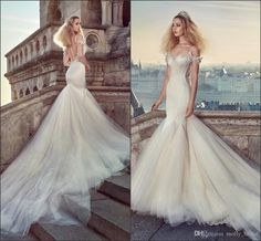 Gorgeous Mermaid Wedding Dresses 2016 New Arrival Spaghetti Sexy Backless Applique Beaded Pleats High Quality Satin Wedding Party Dress Wedding Dreses Wedding Dresses For Cheap From Molly_bridal, $125.66| Dhgate.Com