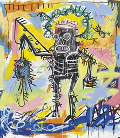 Today is the birthday of neoexpressionist artist and graffiti king extraordinaire, Jean-Michel Basquiat. The celebrated American painter, praised by everyone from Andy Warhol to Jay-Z, would turn 52 if he were still alive today.
