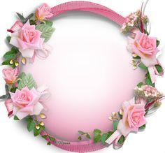 Rose Frame, Flower Frame, Flower Art, Beautiful Fantasy Art, Beautiful Roses, Anniversaire Hello Kitty, Boarder Designs, Boarders And Frames, Photo Frame Design