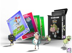 Who's Boss. Animal Riots: The CARD GAME   Image   BoardGameGeek