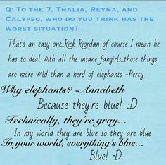 In MoA Leo said Blue Elephants while talking to Echo...