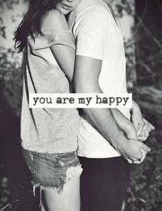 You are my happy ❤️ this is to my love and all my friends