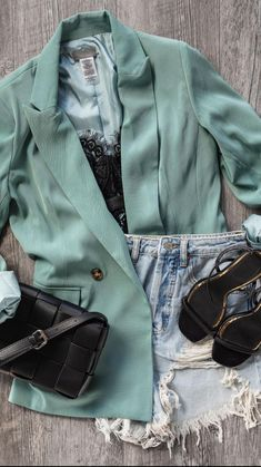 Blazer Outfits Casual, Chic Outfits, Trendy Outfits, Fall Outfits, Summer Outfits, Fashion Outfits, Indie Outfits, Inspired Outfits, Spring Summer Fashion