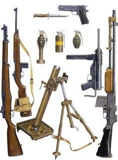 WW2 - US Infantry Weapons