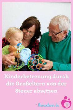 So könnt ihr die Kinderbetreuung durch Oma oder Opa von der Steuer absetzen.