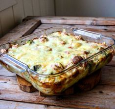 Sausage gratin with vegetables Low carb – Oppskrifters Beef Recipes, Low Carb Recipes, Cooking Recipes, Recipe Collection, I Love Food, Sausage, Healthy Living, Food Porn, Food And Drink