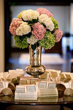 hydrangea - Skokie Country Club Wedding from Kathryn Krueger Photography