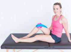 Knie Tapeanleitung   TRUETAPE.de Videos, Yoga, Gym, Sports, Bias Tape, Pictures, Tutorials, Healing, Anatomy