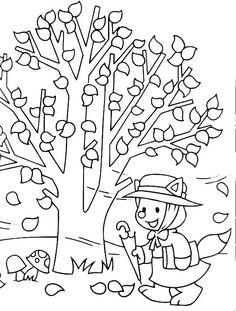 desenhos para colorir outono - Pesquisa do Google