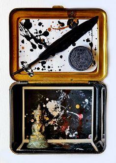 mano kellner, project  2016, kunstschachtel / art box nr 16/2016, ruhe