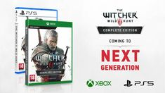 The Witcher 3 on PS5 and Xbox Series X it's official! The Witcher 3, The Witcher Wild Hunt, Ps4 Or Xbox One, Playstation 5, Cyberpunk 2077, Starcraft, Consoles, Entertainment Video, The More You Know