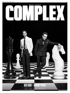 Kid Cudi & Jeremy Piven star on COMPLEX's June / July 2015 cover.  Read 'All the Right Moves' now.