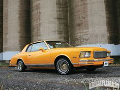 1978 Chevy Monte Carlo Side View