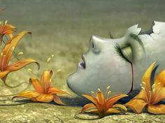 El dolor mas profundo es aquel que nunca se dijo, que nunca se expresó, haciéndose cómplice de nuestros propios temores, nuestra agonía y nuestras frustraciones. Cuando el dolor reside en ti y no se transmuta se convierte en una herida sin precedentes desgarrando nuestro alma y robándonos nuestra esencia misma de ser.   J.T. (Alma Libre)  Foto obtenida a través de Google Search