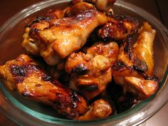 Honey-Garlic Chicken Wings and 15 Paleo recipes for kids on MyNaturalFamily.com #paleo #recipe