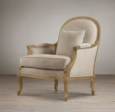 Vintage French Chairs   Restoration Hardware