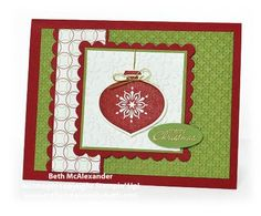 Card Creations by Beth: Delightful Decorations