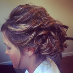 Blushing bride By Jamie @ Celeslie's salon and spa Arnold, MO 636-464-0070