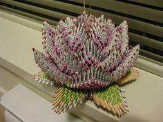 3D Origami - Origami Lotus Flower