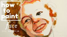 Face Oil, Sketch, Child, Portrait, Painting, Art, Sketch Drawing, Art Background, Boys