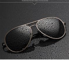 awesome 2015 MEN Basic Style  aluminum magnesium oculos de sol Sunglasses eyeglasses men male polarized gafas driving glasses D2-4