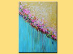 Acrílica pintura abstracta en galería envuelto lona con grapas posteriores.    (¡ Gracias por mirar! Pásate por mi tienda para pinturas originales más aquí: http://www.etsy.com/shop/mimigojjang?ref=si_shop  ******************************************************************************  Descripción de la obra de arte    Acrílica pintura abstracta en galería envuelto lona con grapas posteriores.  -Título: Untitled NO.20  -TAMAÑO: 30 x 40 pulgadas (76,2 x 101, 6 cm)    -MEDIO:...Acrílicos de…