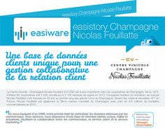 Cas client easiware : Nicolas Feuillatte  http://www.easi-crm.com/nicolas-feuillatte/