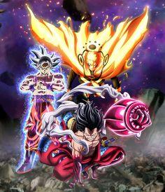 Goku Luffy Naruto