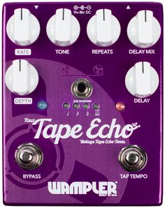 Wampler Faux Tape Echo V2 | Sweetwater.com