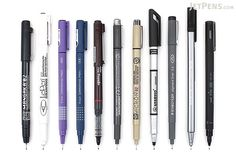 JetPens Drawing Pen Sampler - JetPens.com