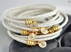 Initial Bracelets Personalized Gold Initial Bridesmaid Bracelets , Find Complete…