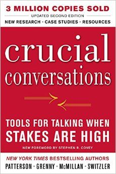 Crucial Conversations Tools for Talking When Stakes Are High, Second Edition (Business Books): Kerry Patterson Corporate Consultant, Joseph Grenny Corporate Consultant, Ron McMillan Corporate Consultant, Al Switzler Corporate Consultant: Ama Reading Lists, Book Lists, Crucial Conversations, Books To Read, My Books, Books For Self Improvement, Personal Development Books, Thing 1, High Stakes