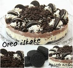 My Little Kitchen: Oreo iskake Protein Shake Recipes, Little Kitchen, Dessert Recipes, Desserts, Drink Recipes, Foods To Eat, Oreos, Cakes And More, Recipe Of The Day
