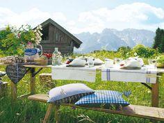 Tischdeko: Süßer Alpen-Look - Wohnidee.de