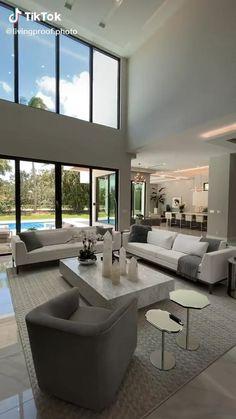 Modern Mansion Interior, Modern Home Interior Design, Dream House Interior, Luxury Homes Dream Houses, Home Room Design, Modern House Design, Luxury Modern Homes, Modern Interiors, Luxury Life