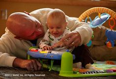 With the Discover 'n Grow™ Kick & Play Piano Gym, baby can entertain you with a piano concert. #BabyGear