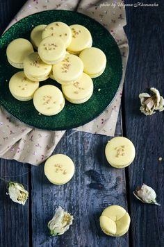 Мандариновые макарон с бобами тонка