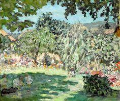 Pierre Bonnard (1867-1947) Jardin en Dauphiné 1901