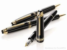 A classic: the Mont Blanc Meisterstuck set.