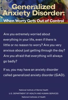 Learn more about the signs, symptoms, and treatment for anxiety.